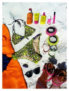 Maldives - What to Wear - Neon beach essentials