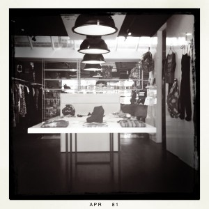Goodhood boutique interior