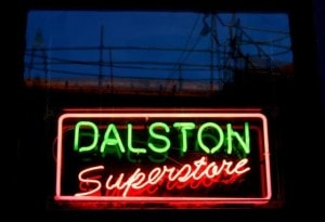 Dalson London superstore cocktails bar