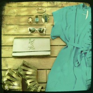 Athens greece packing street style ysl dress