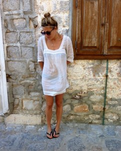 greek islands yacht luxury beach dress