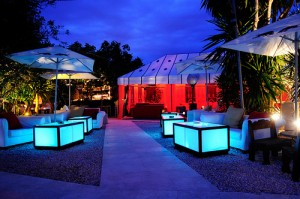 ibiza eating KM5 luxury glamourous swanky restaurant bar
