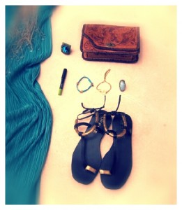 ibiza beac style accessories sandals
