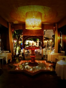 ibiza eating moroccan interior style luxury glamourous swanky restaurant bar