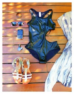 swimwear beach pack style fashion sandals