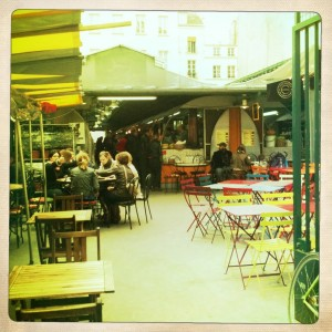 Paris Shopping, Le Marais cafe l'estaminet