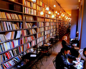 merci concept store cafe library