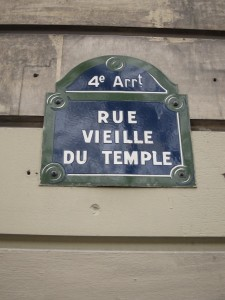 Paris Shopping, Le Marais rue temple