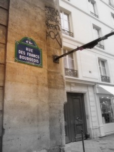 Paris Shopping, Le Marais rue bourgeois