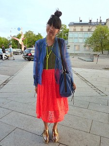 Stockholm Sweden fashion week street style chic scandi cool