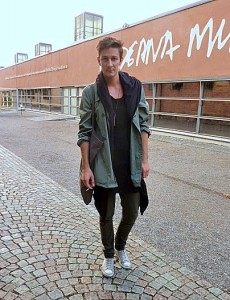 Stockholm Sweden fashion week street style chic scandi cool menswear