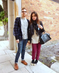 Stockholm Sweden fashion week street style chic scandi cool couple