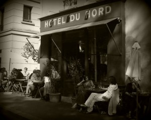 Paris France bar nightlife hotel du nord bar