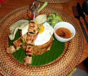 Bali Khaima eating restaurant