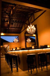 Bali sarong bar luxury glamour