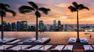 singapore marina bay sands luxury travel rooftop view