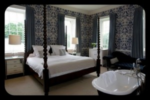 Babington House hotel spa bedroom luxury