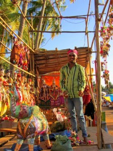 Goa market shopping