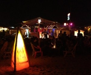 beach bar party goa