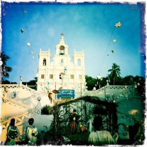 Goa sightseeing church