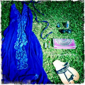 Goa style outfit accessories