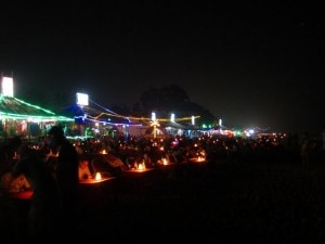 baga beach party bar goa