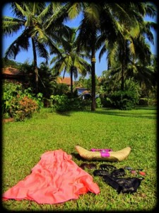 Goa style outfit beach accessories