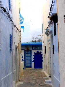 Tunisia Sightseeing medina doorways street