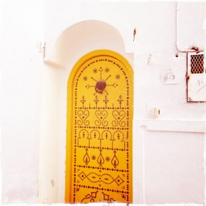 Tunisia Sightseeing medina doorways decoration