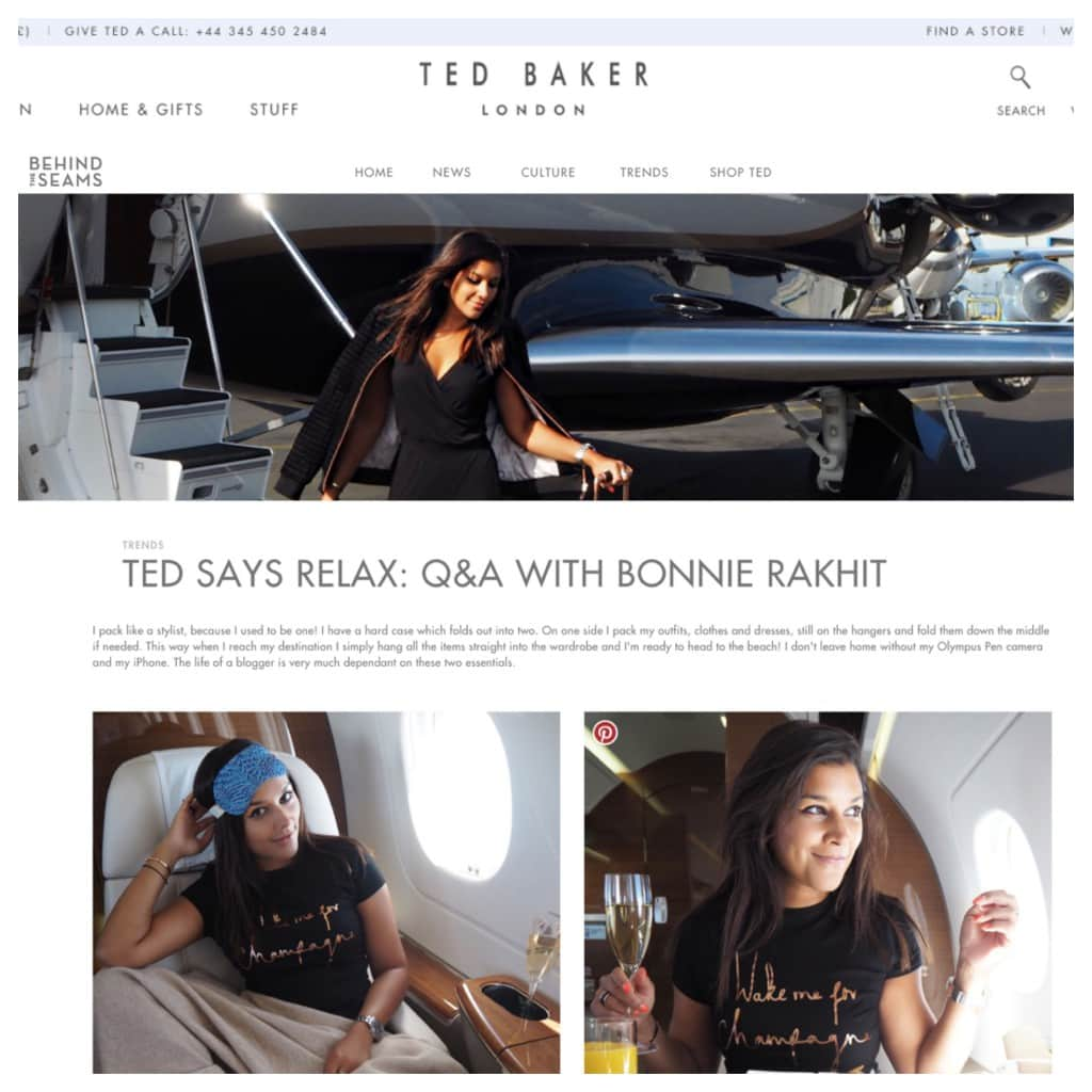 TED BAKER - AUG 17