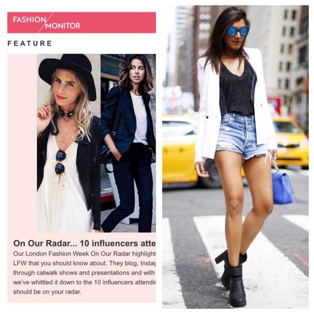 Fashion monitor top 10 influencers