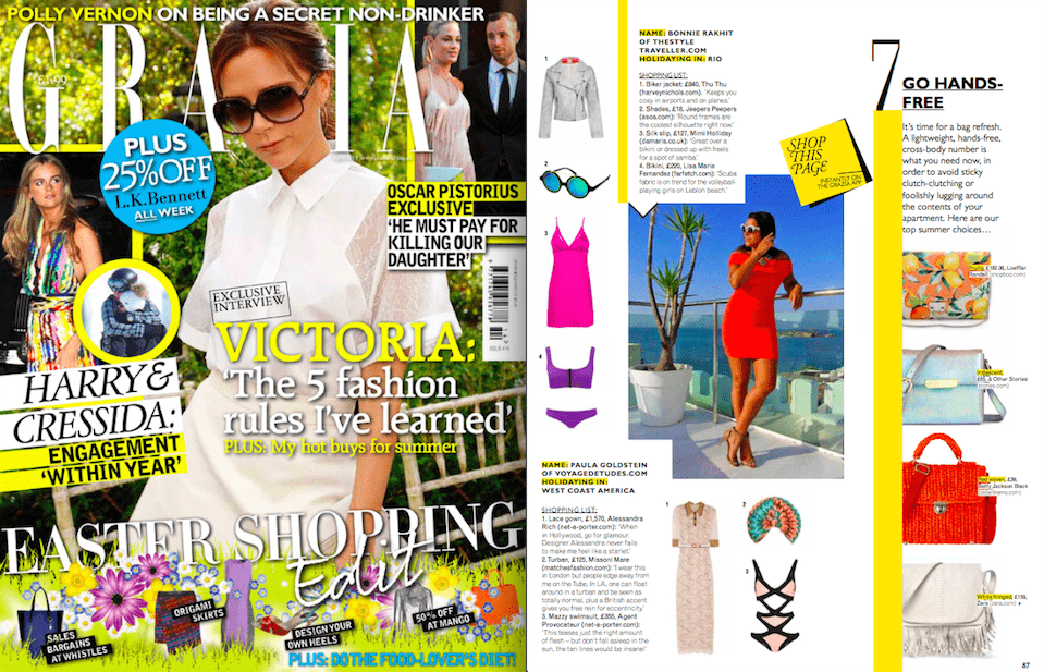 Grazia Magazine UK - May 14