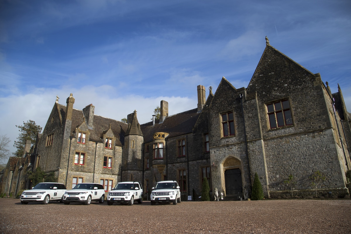 Landrover experience at Huntsham Court