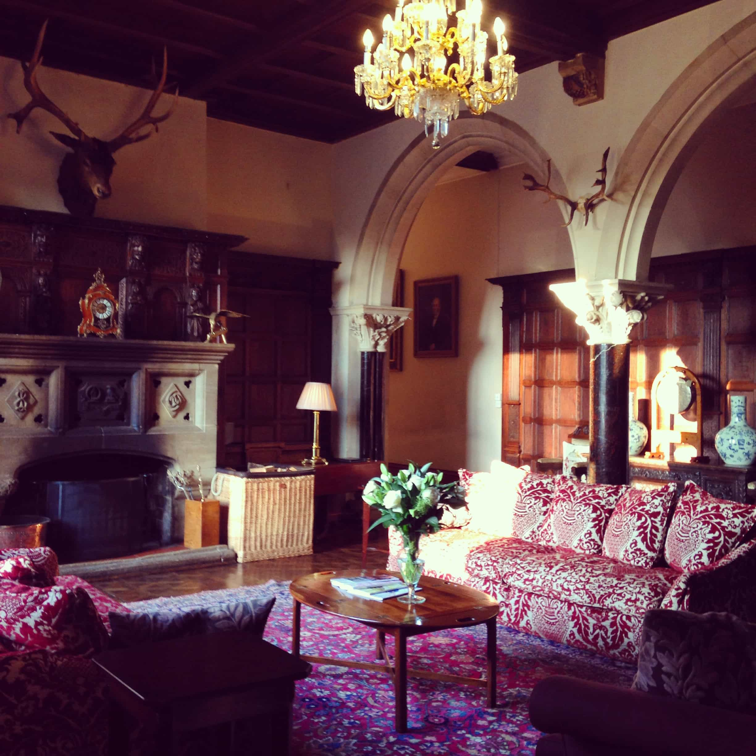 Grand hall Huntsham Manor