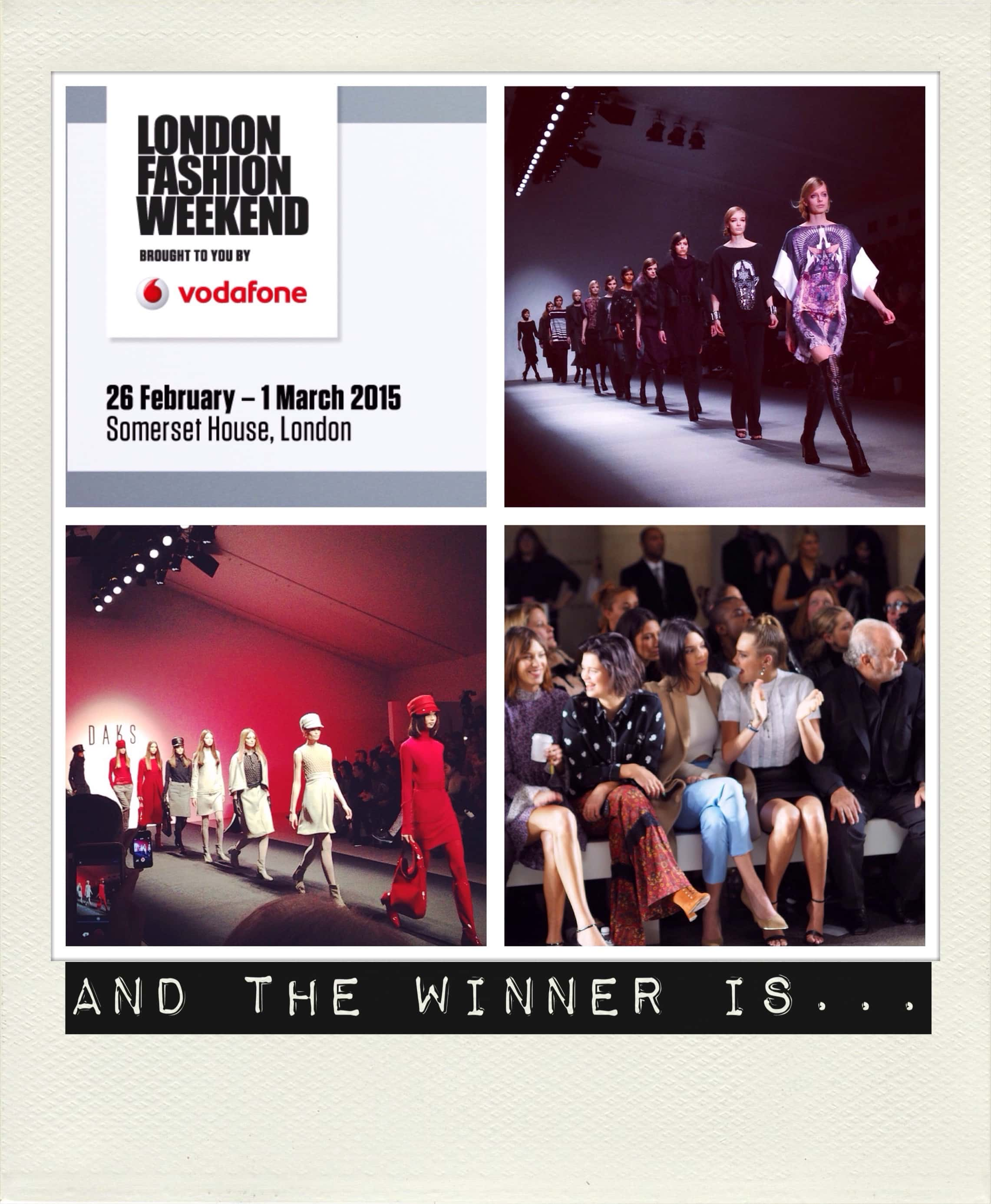 97fca73cd8d Vodafone london fashion weekend at somerset house