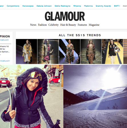 GlamourMagazine.co.uk ski style