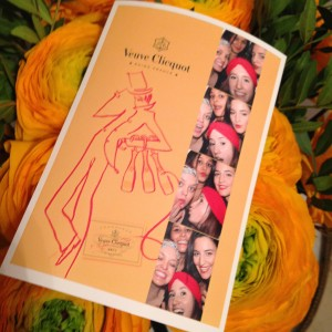 Veuve Clicquot Photo Booth