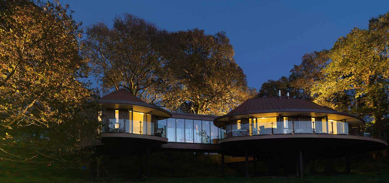 Chewton Glen tree house