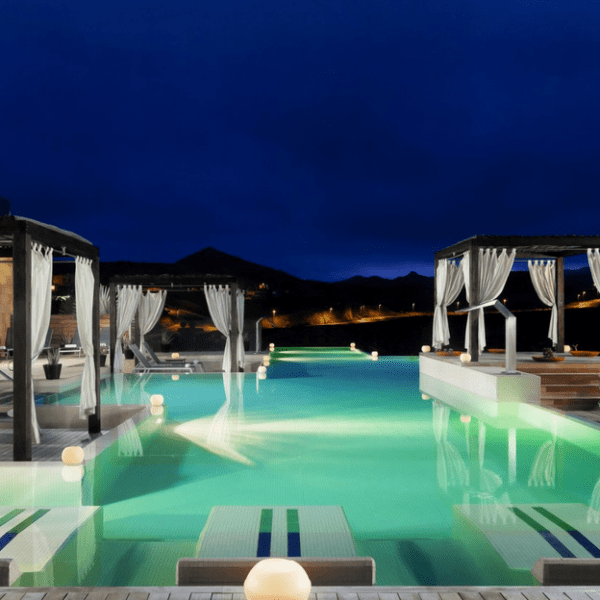 Sheraton Gran Canaria Salobre Golf Resort spa night