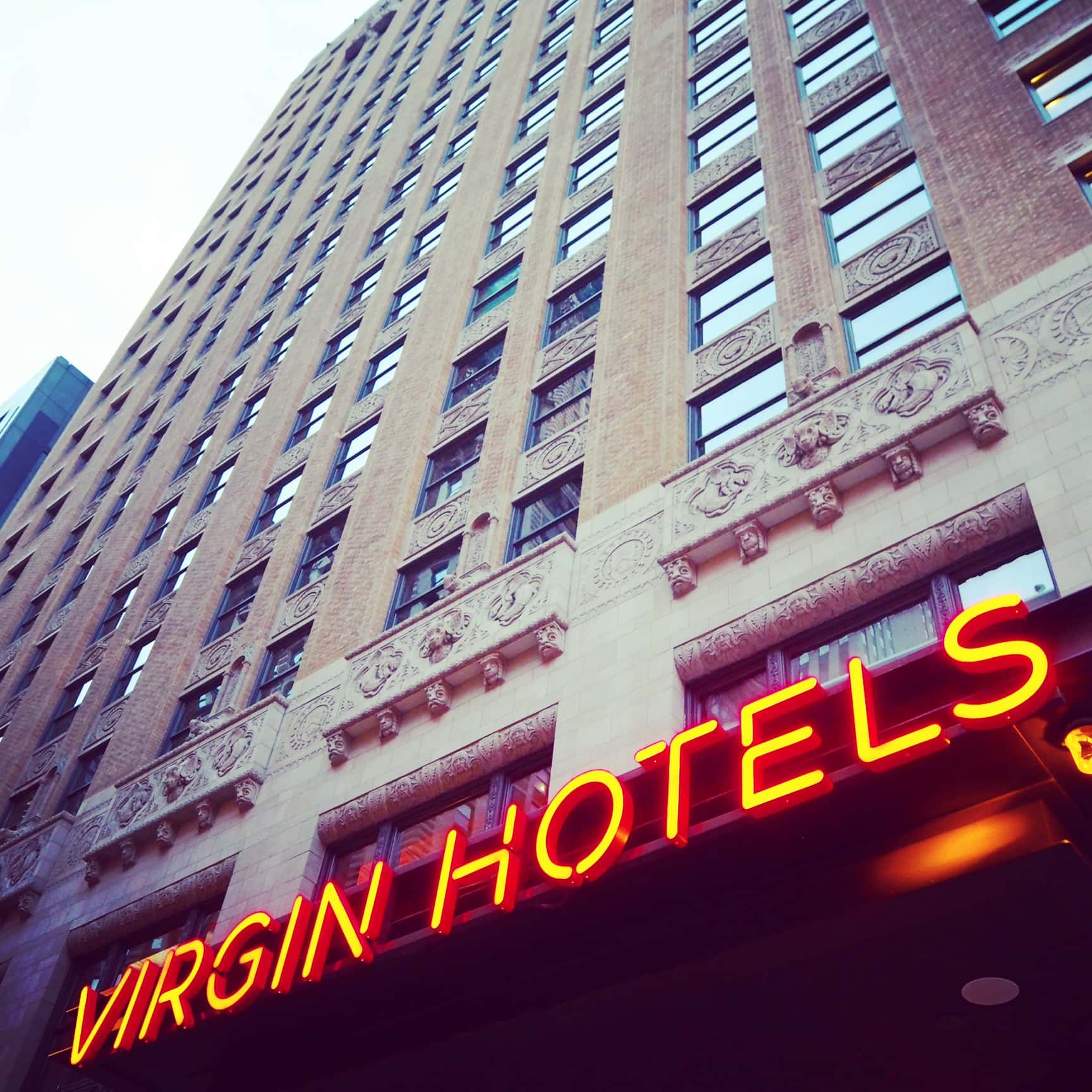 In Bed With Richard Branson Virgin Hotel Chicago The