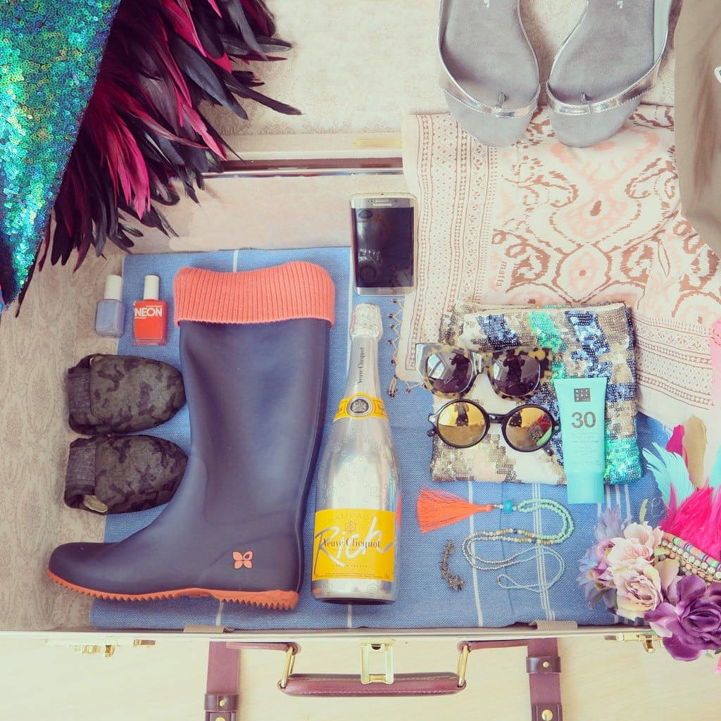 Perfect Festival packing