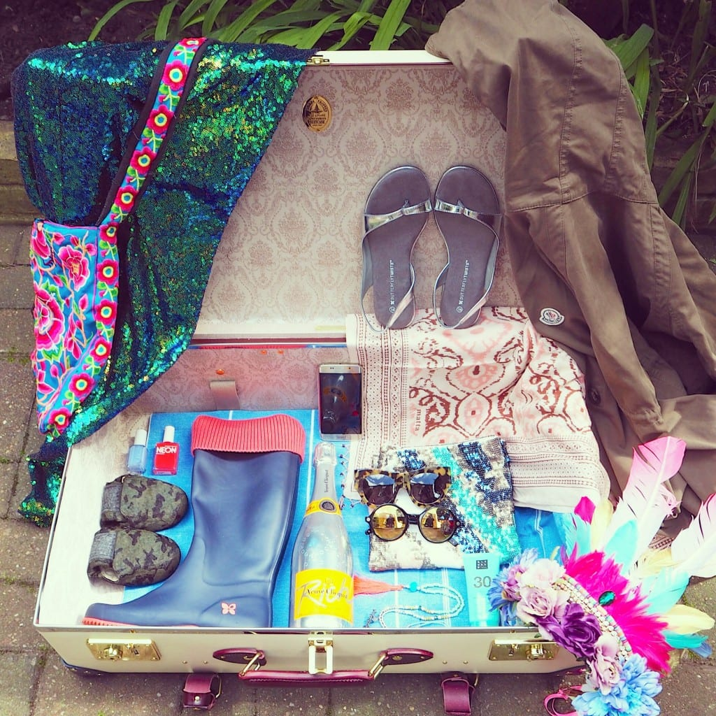 Perfect Festival packing with butterfly twists