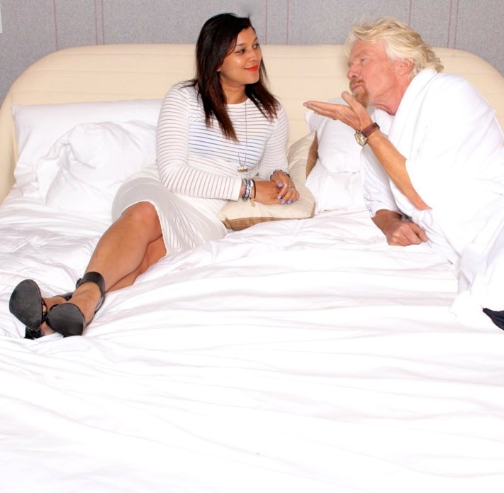 in bed with richard branson 2