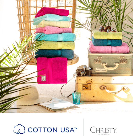 Christy Towels Cotton USA