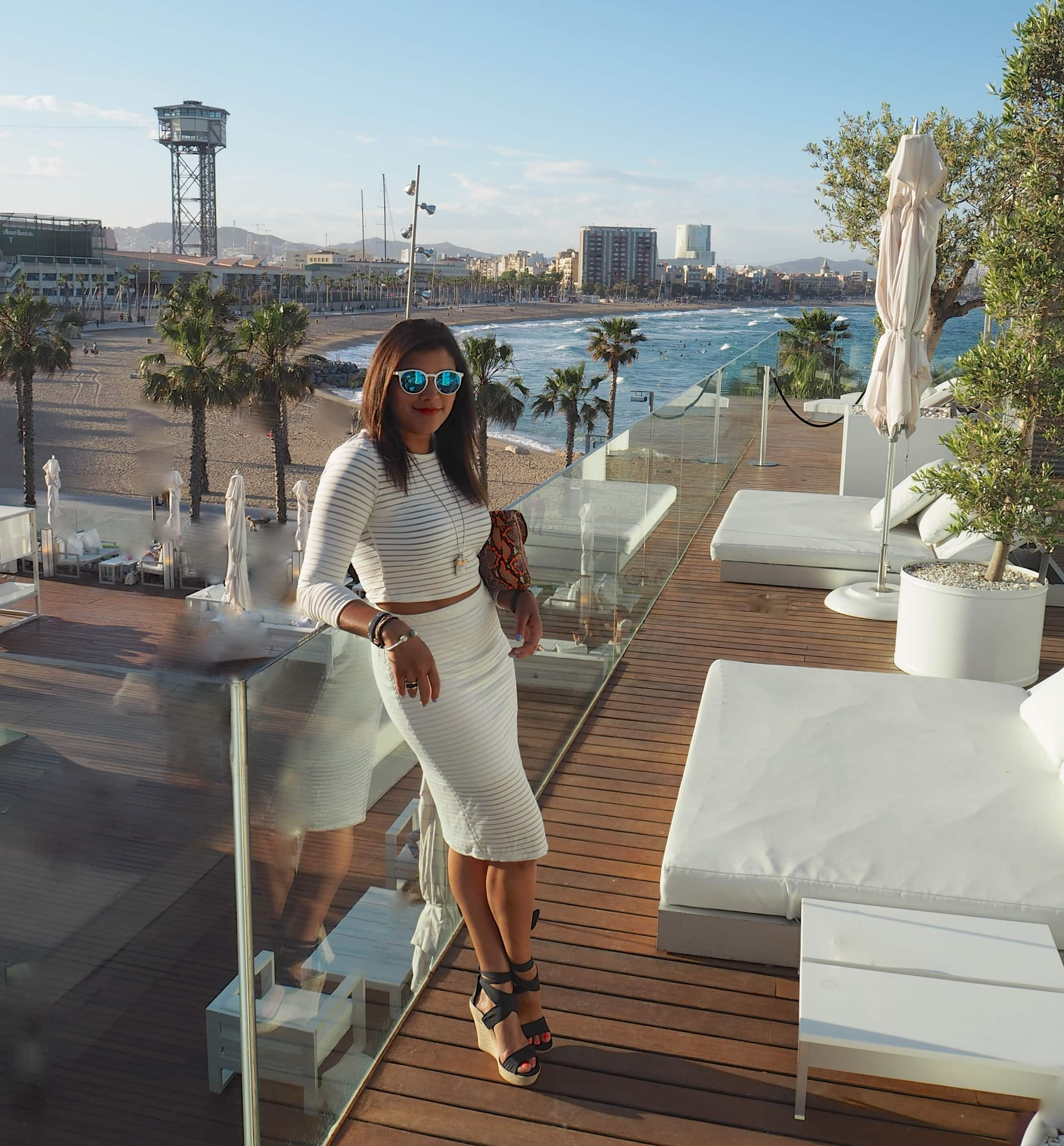 Barcelona one night at the w hotel the style traveller for Hotel w barcelona precios