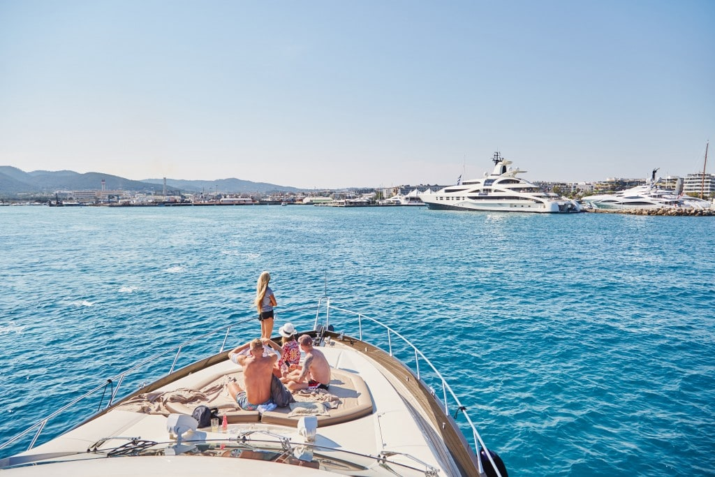 Yacht trip to Formentera The Style Traveller