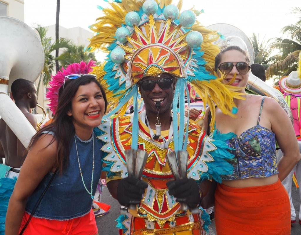 The Style Traveller at bahamas carnival
