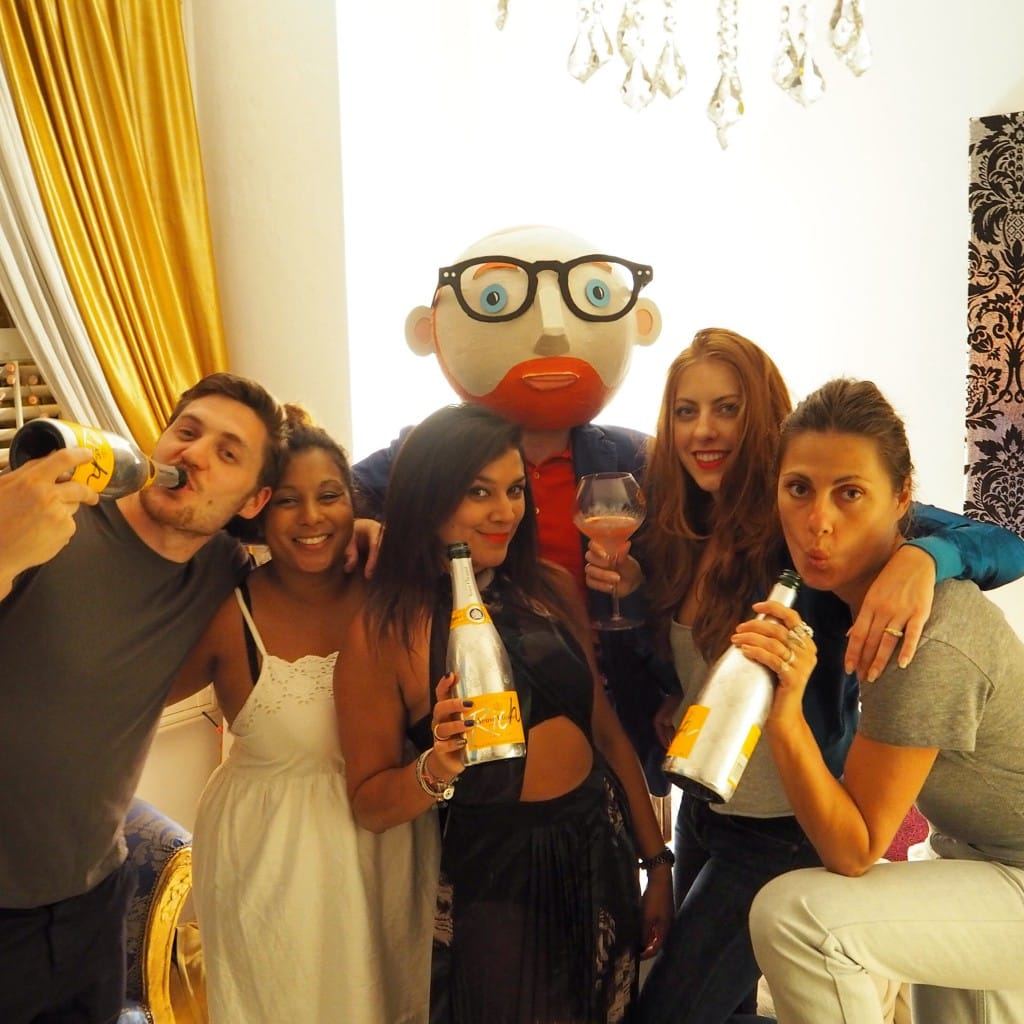 The Style Traveller Veuve Clicquot Rich House Party