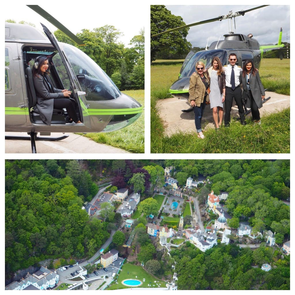 Portmeirion helicopter rides The Style Traveller