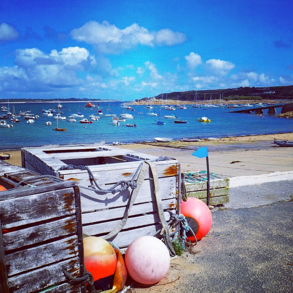St Mary's harbour Scilly Isles